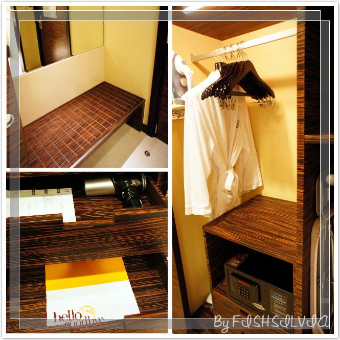 芽莊喜來登客房衣櫃