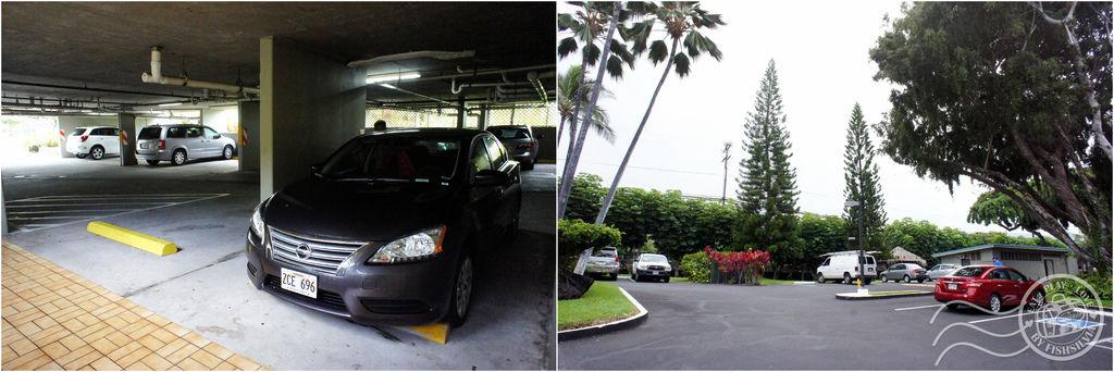 Kailua-Kona 停車