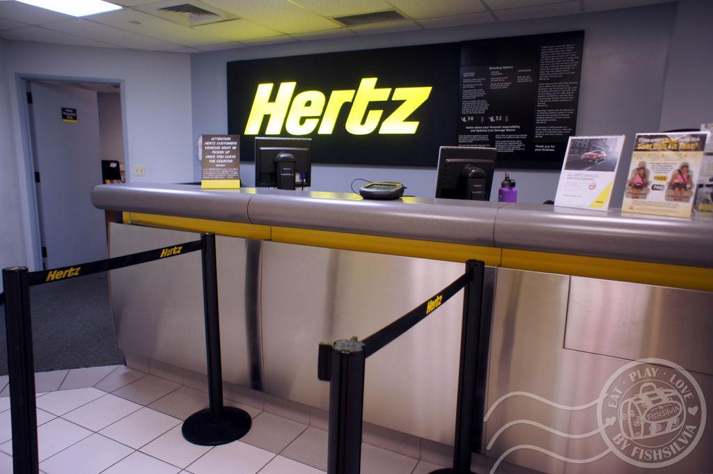hertz 租車