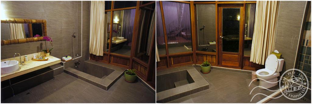 隱山靚海浴室