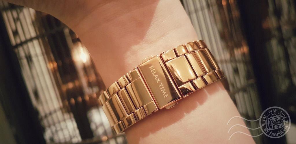 手錶,穿搭,Relax Time,閨蜜婚紗,玫瑰金,女錶,伴娘禮,錶帶,錶面,錶盒