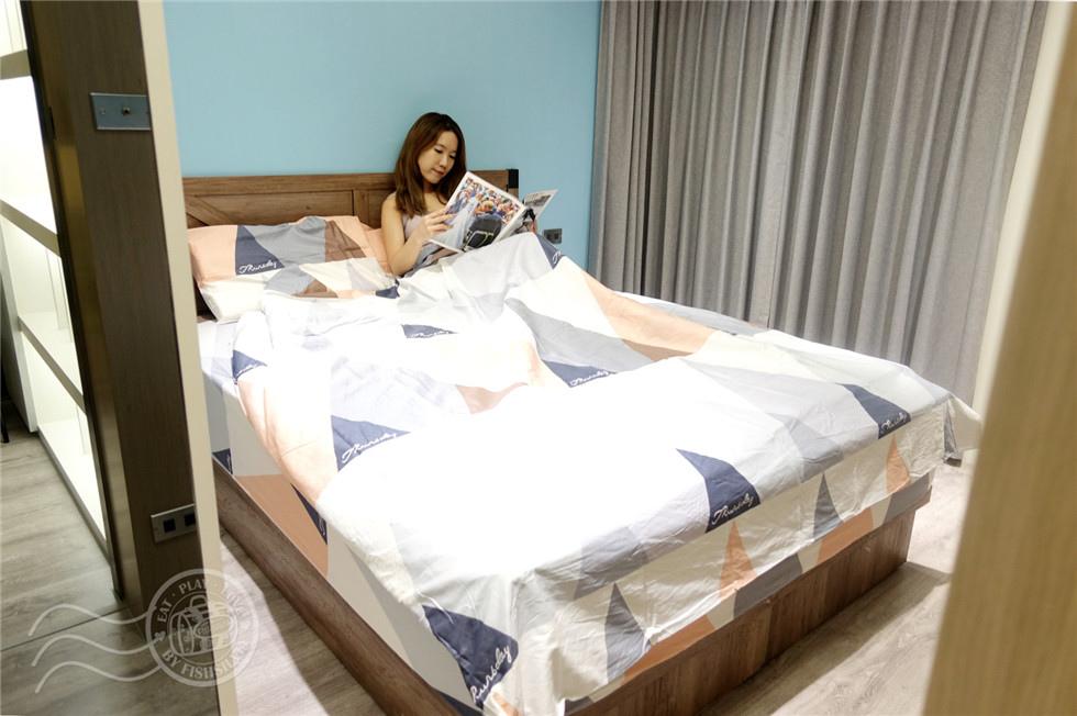 家具,床墊,裝潢,乳膠床墊,雙人床,老屋翻新,獨立筒床墊,居家,新家,愛莎家居