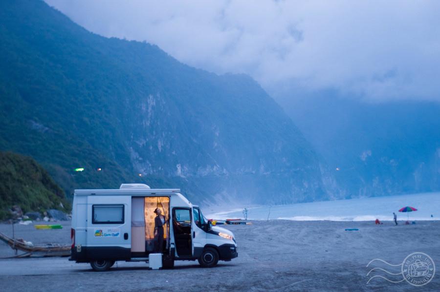 露營車,清水斷崖,SUP,露營車出租,花蓮好玩,崇德海灘,花蓮行程,立槳,好野人,水上活動,防疫,好野人獨木舟