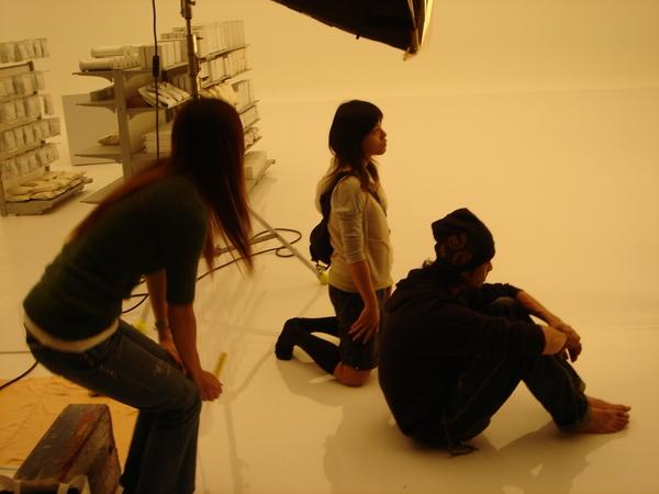 化妝髮型侯、製片助理小夏與美術賽