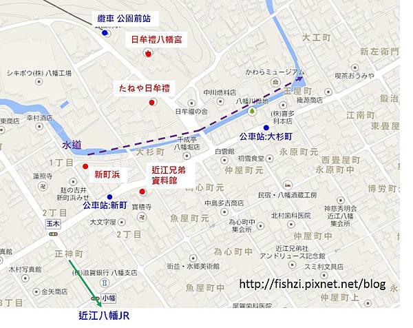 近江八幡地圖1