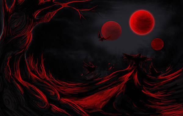 【蔡志賢極短篇之二~3輪紅月--3 Red Moons 】