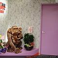 診療室門口