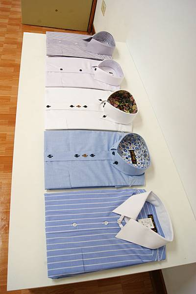 合紳號訂製襯衫款式