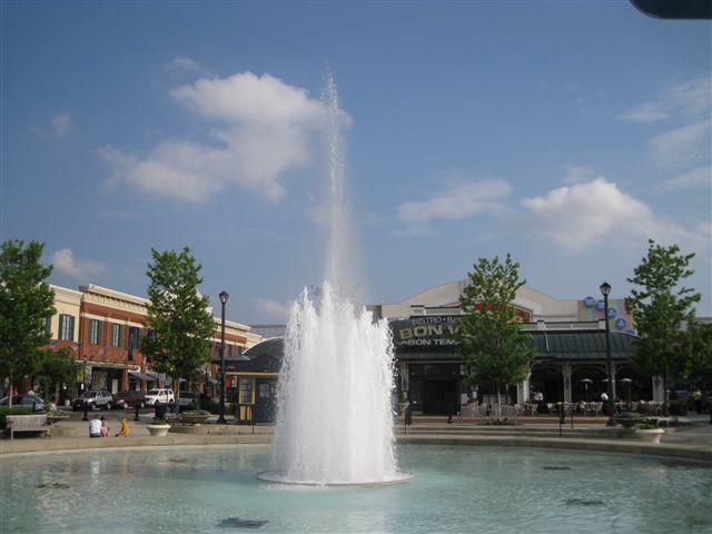 很美的噴泉