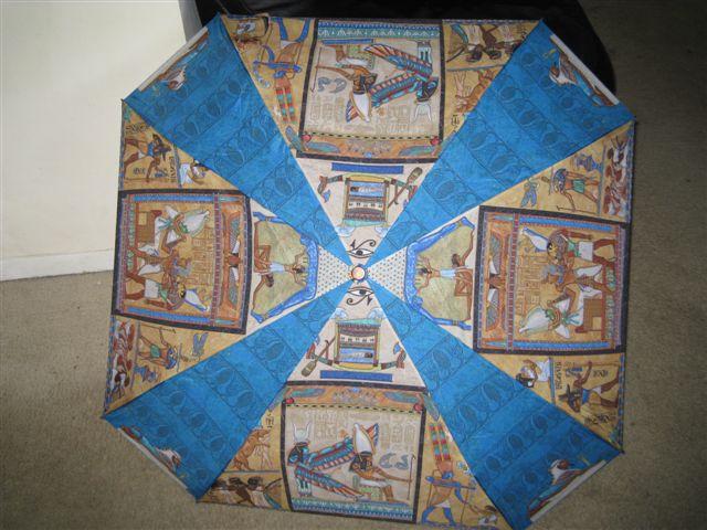 超愛的埃及文化雨傘, 突然愛上下雨天!