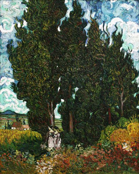 梵谷特展-05-柏樹與兩個人.jpg