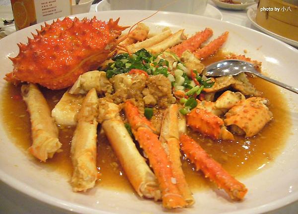 竹園餐廳-12.生猛蒜泥帝王蟹.jpg