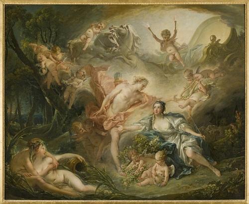 阿波羅向牧羊女伊賽揭示他的神性