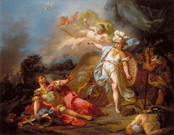 密涅芙大戰馬爾斯