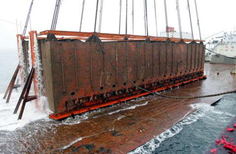 圖1_南海一號打撈船