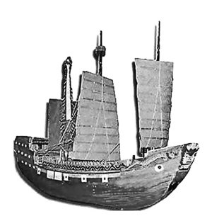 圖2_南海一號沉船模型