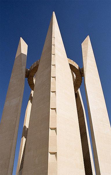 圖四 埃-蘇友誼紀念碑「蓮花塔」