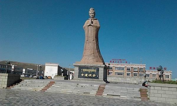 2.文成公主像