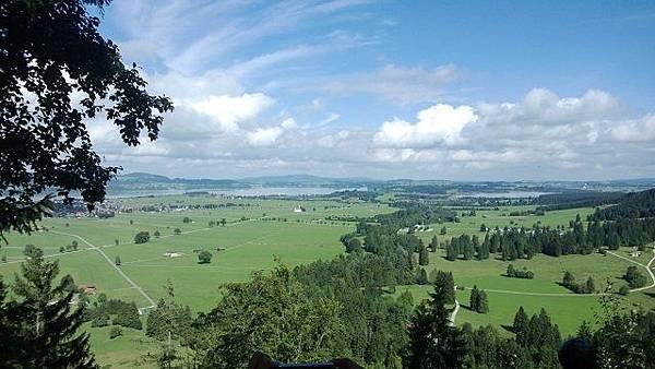 新天鵝堡附近的景觀