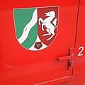 圖一 印有北威邦(Nordrhein-Westfalen) 邦徽(Wappen)的火車車廂.JPG