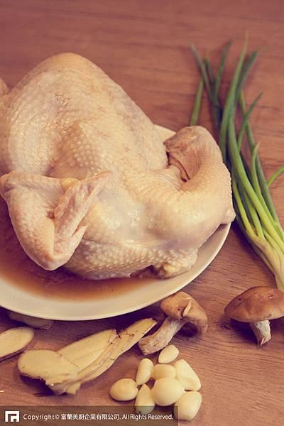超簡單富蘭鍋蒸雞