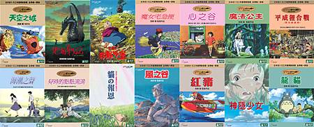 宮崎駿全系列
