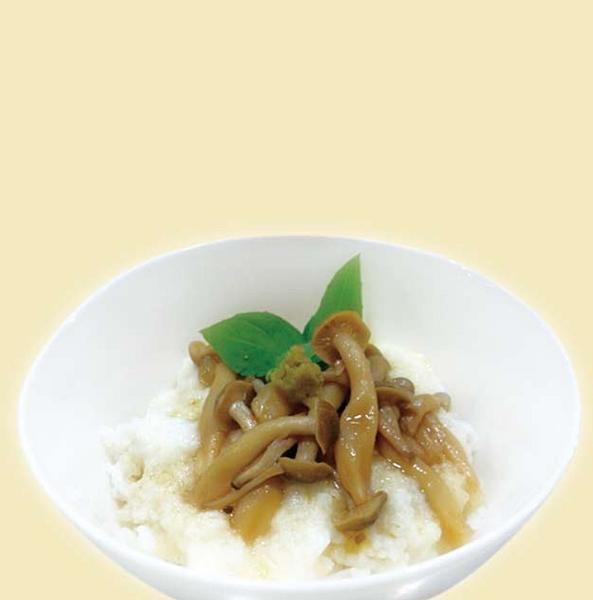 山藥泥醋溜菇菇飯