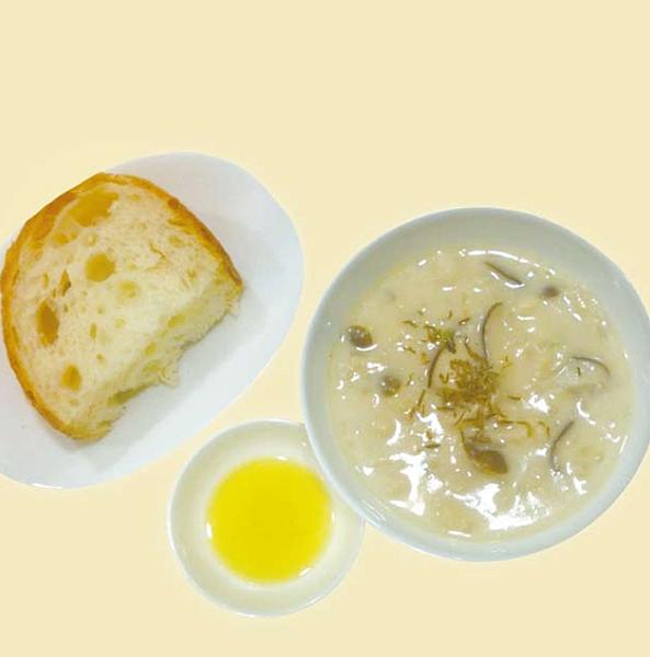 秋日風味菇濃湯