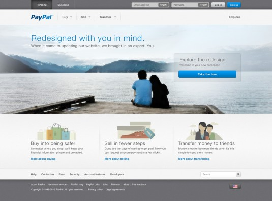 paypal new