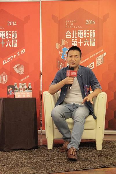導演趙德胤於台北電影節擔任獨立電影Workshop講師,和台灣電影新鮮人分享電影製作的心路歷程
