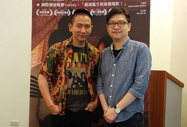 知名影評人塗翔文與【冰毒】導演趙德胤舉辦電影講座對談