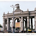 ВДНХ(國民經濟成就展覽館)大門