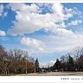 上週末攝於莫大校園。天氣無比的好!