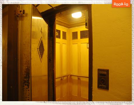 古老的電梯