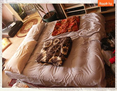 我們晚上睡覺的氣墊床