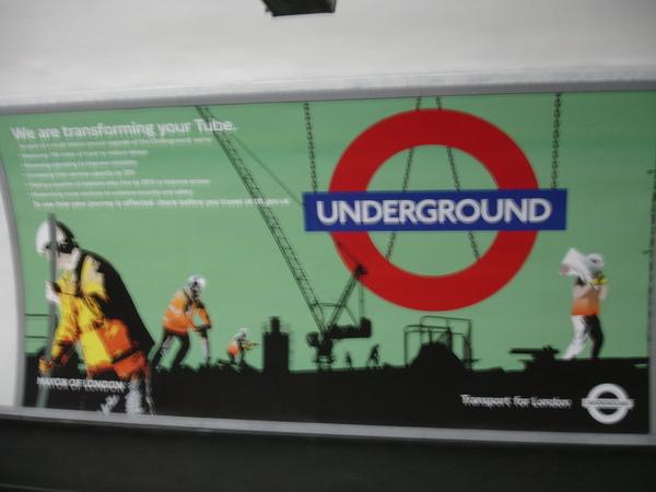 地鐵的廣告