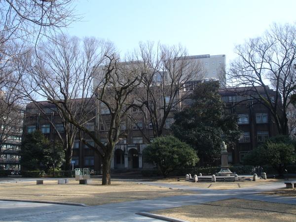 校園中庭一景