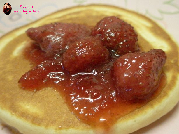♨ 草莓鬆餅 2009/03