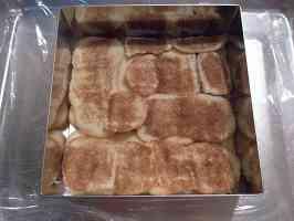 ♨ 提拉米蘇Ⅱ~底部舖上手指餅乾 2009/05/13