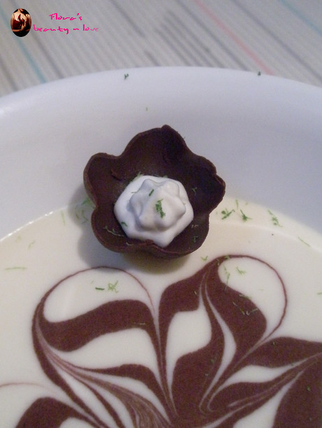 ♨ 白巧克力豆乳柔滑慕斯 2009/05/27
