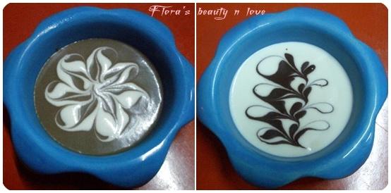 ♨ 黑白巧克力豆乳柔滑慕斯 2009/06/07
