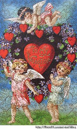 Valentine with Cherubs (2)