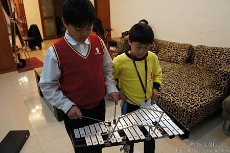 20111221 兄弟合奏