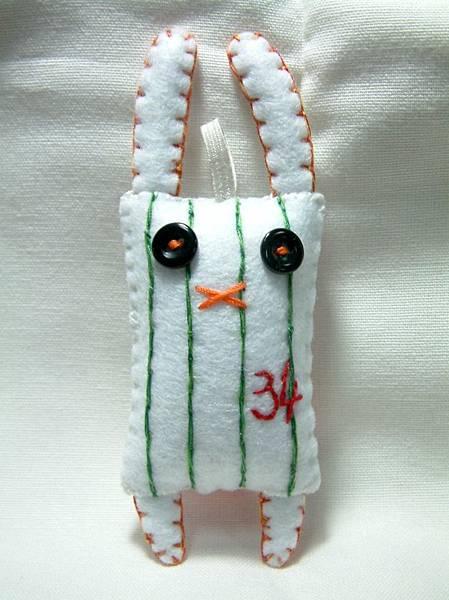 棒球兔-統一獅復古球衣版