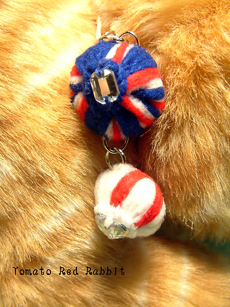 國旗手機吊飾-英國+英格蘭
