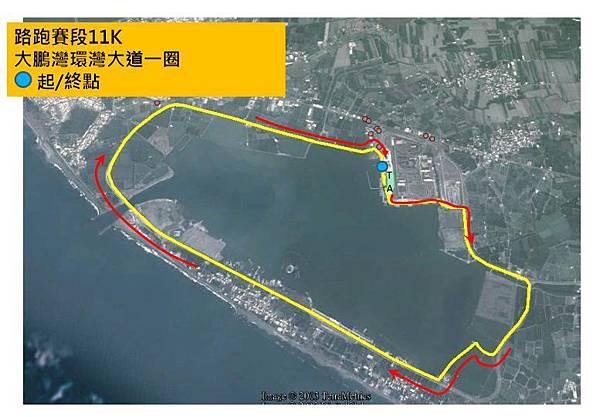 大鵬灣跑步路線