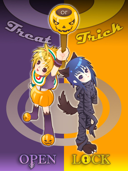 treat and trick !?
