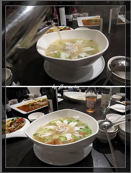 魚片皮蛋湯