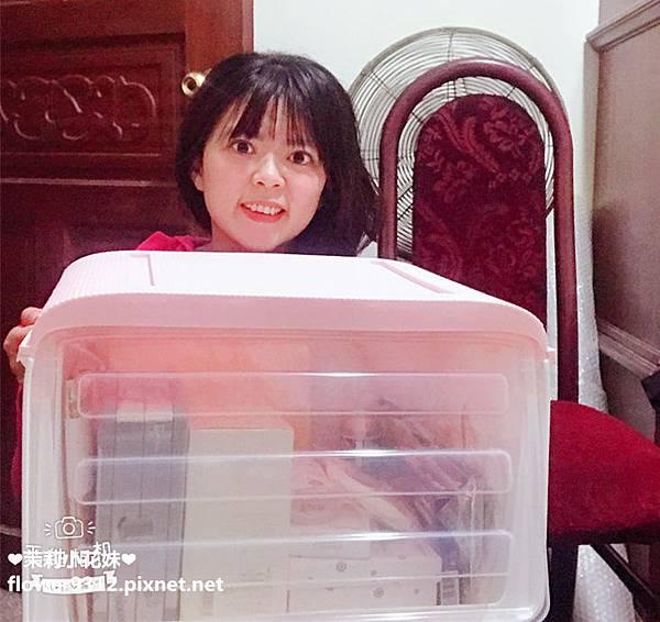 Vencedor梵希朵 掀蓋免手扶收納箱 (6).JPG