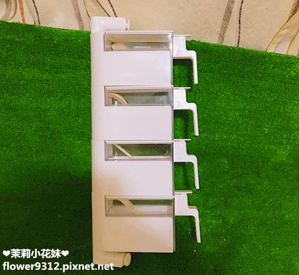 約翰家庭百貨 壁式翻蓋旋轉調味盒 (4).JPG